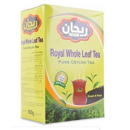 Picture of Rehan Black Tea Whole Leaves 900 GM