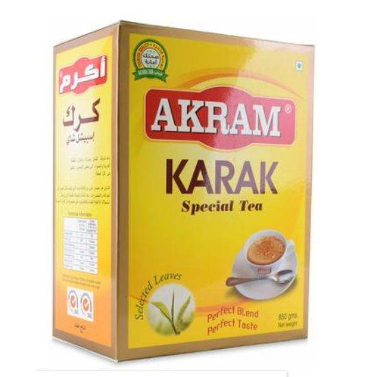 Picture of Akram Karak Tea Best for preparing Karak milk tea  850 GM