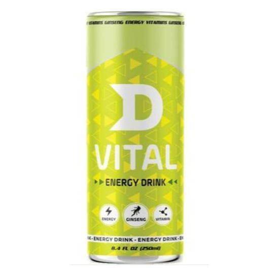 صورة D Vital Energy Drink with Ginseng + Vitamins 250ML*24