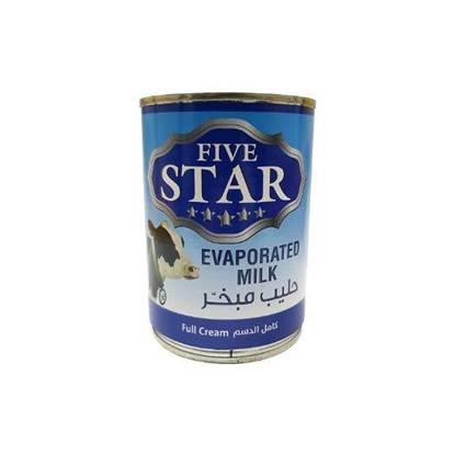 الصورة: FiveStar Evaporated Milk 400ML*48