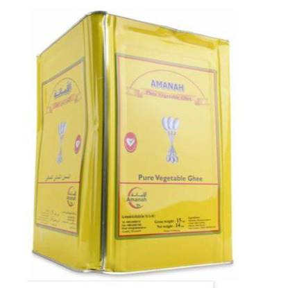 Picture of Amanah Ghee 3 Spoons Vegetable Ghee 15KG