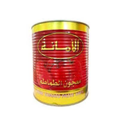 Picture of Amanah Tomato Paste Premium Quality 800 GM*12