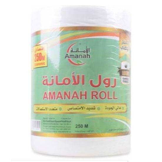 صورة Amanah Tissue Max Roll 250m*6