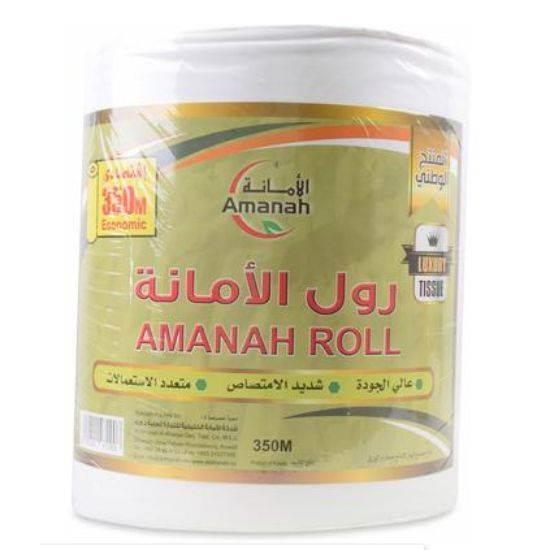 صورة Amanah Tissue Max Roll 350m*6