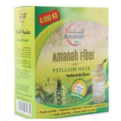 Picture of Amanah Fiber Isabgol Husk 100gm