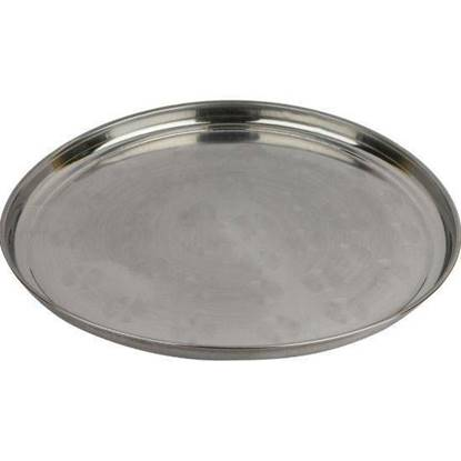 Picture of Amanah High quality stainless-steel rice plates 33 cm 6 Pieces