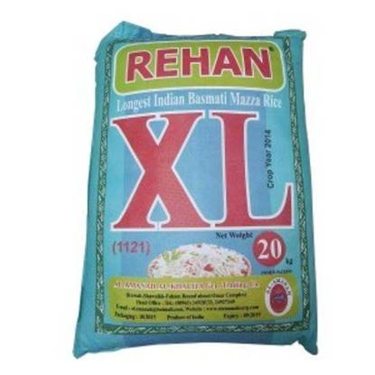 Picture of Rehan XL Rice Basmati Mazza 20kg