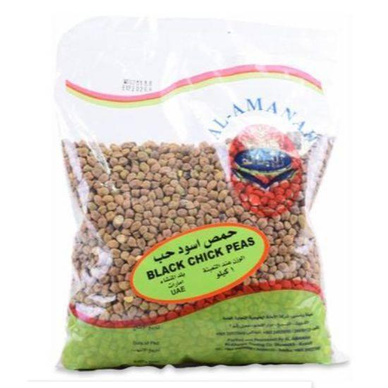 صورة Amanah Black Chick Peas Per KG