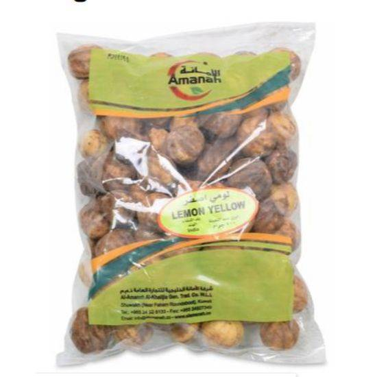 Picture of Amanah Dried Yellow Whole Lemon 500GM