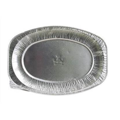 الصورة: Wataniya Aluminium Oval Platter Plate Ov 0 - 1 x 150