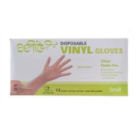 Picture of Bono Nylon Gloves Size Small Single Use , Non Sterile 100 x 10