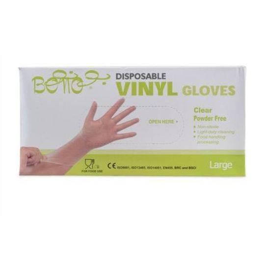 Picture of Bono Nylon Gloves Size Large Single Use , Non Sterile 100 x 10
