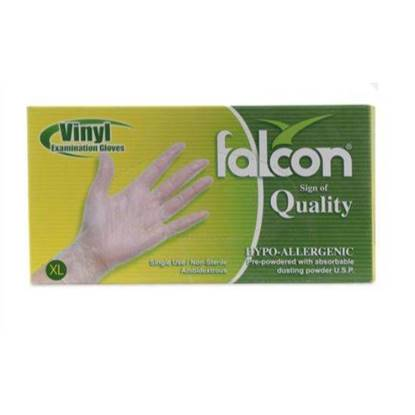 Picture of Falcon Nylon Gloves Size XL large Single Use , Non Sterile 100 x 10