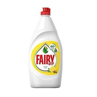الصورة: Fairy Dishwashing Liquid Lemon 750 ml x 12