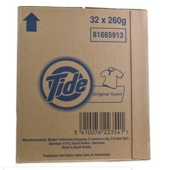 Picture of Tide Washing Powder Normal Washing  260gm*32
