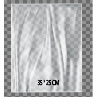 الصورة: Transparent Platic Packing Pouch25 cm x 35 cm  1KG
