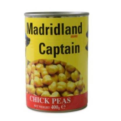 Picture of Madrid Land Captain Chick Peas 24 x 400g