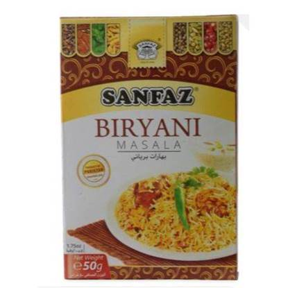 الصورة: Sanfaz Biryani Spices 50gm*6
