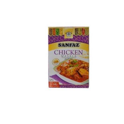 الصورة: Sanfaz Spices Chicken Masala 50gm*6