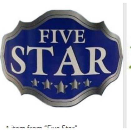 صورة للشركة المصنعة: FiveStar