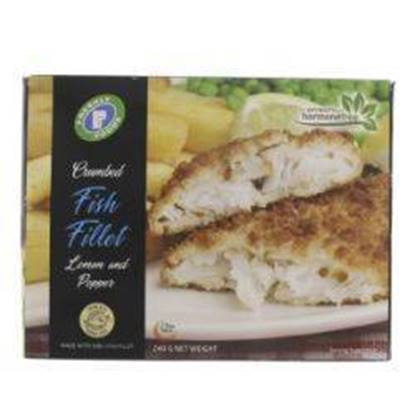Picture of Crumbed Fish Fillets Lemon Pepper Freshly 240 g