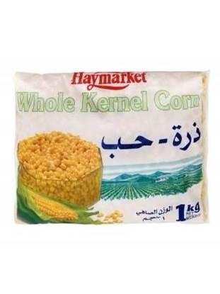 Picture of Hay Market Sweet Corn Frozen  (1 KG * 12 Pouch )