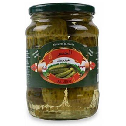 Picture of Al Jisr Whole Cucumber Pickles  680GM*12