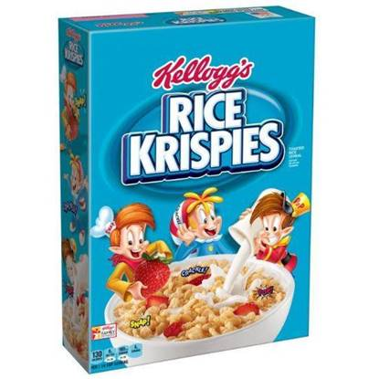 Picture of Kellogg's Rice Krispies KEU 375 G