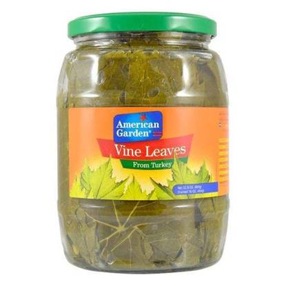 Picture of American Garden Turkish grape leaves 454 gm