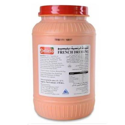 Picture of Delicio French Dressing 3.780 ltr*4