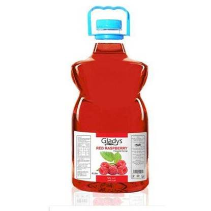 Picture of Gladys Red Raspberry Syrup 4Ltr