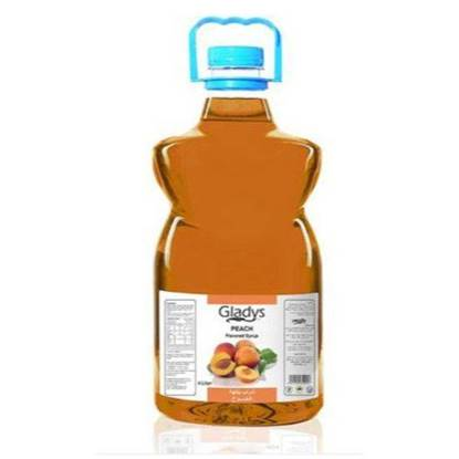 Picture of Gladys Peach Syrup 4Ltr