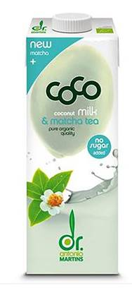 Picture of GREEN COCO ORGANIC COCONUT MILK WITH MATCHA 1000 ML