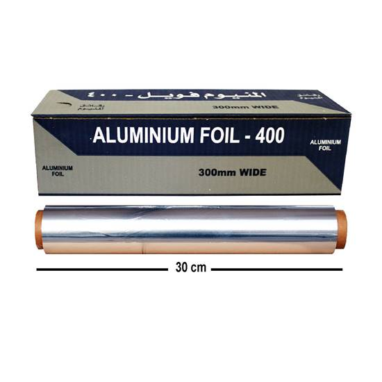 Picture of Kuwaitina Aluminum Foil  400×30cm Black Blue ( 50 meter)
