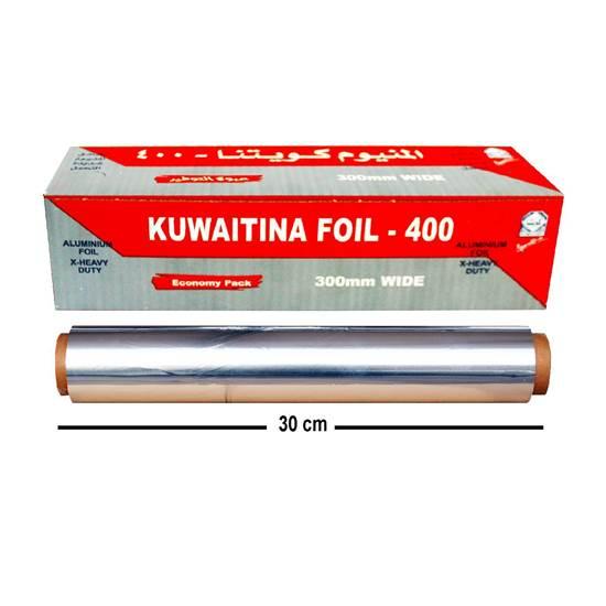 Picture of Kuwaitina Aluminum Foil  400×30cm Red 850gm ( 50 meter)