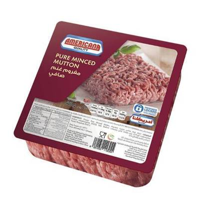 Picture of Americana Square Minced Mutton 400 g