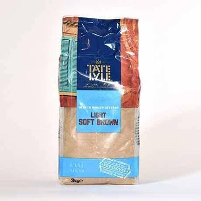Picture of TATE & LYLE Light  Brown Sugar ( 3kg * 4 Pouch )