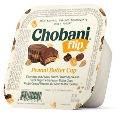Picture of Chobani Greek Yoghurt Flips Caramel Peanut PlsCnt 5.3OZ