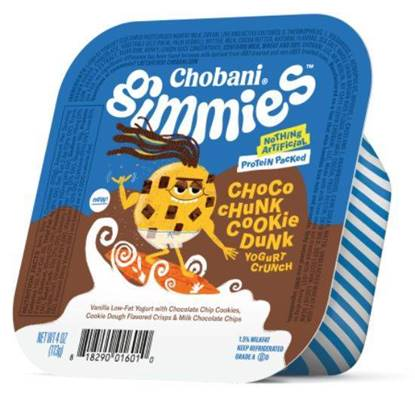 Picture of Chobani Gimmies Yoghurt Choco Chunk Crunch PlsCnt 4OZ