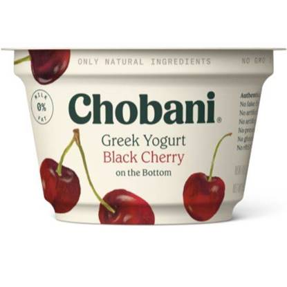 Picture of Chobani Greek Yoghurt FOB Black Cherry PlsCnt 5.3OZ