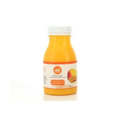 Picture of Alban Mango Flavored Milk Cow Full Fat Plastic Bottle 180ml