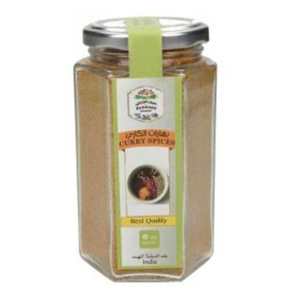 Picture of Farmers Market Curry Spices Glass Jar 120 g