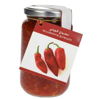 Picture of Farmers Market Red Chili (Ma'aboush) Glass Jar 300 g