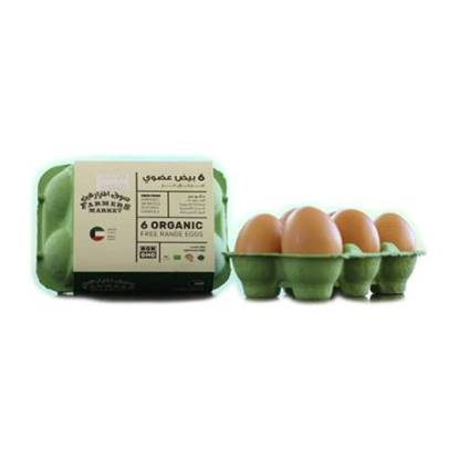Picture of Farmers Market Free Range Fresh Eggs Natural Feed (6 pcs)