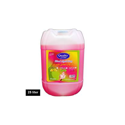 Picture of Quality Pack Hand Wash 25 Liter Red Peach
