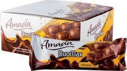 الصورة: ويفر مغطى بشوكولاتة الحليب وبكريما البندق دوماكس - امادا -44جم