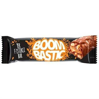 Picture of Bombastic black-bar rice with crackers, caramel, peanuts and milk covered chocolate 60gm