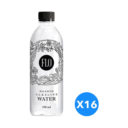 Picture of Flo Alkaline Water PH.7.6 to 8- 330ml*16