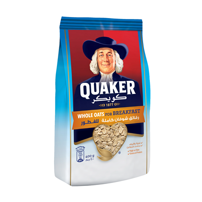 Picture of Quaker Whole Oats (Pouch) 400 GM