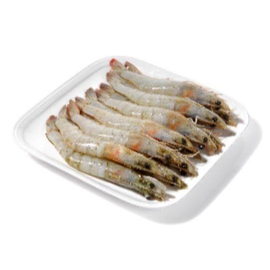 Picture of Frozen HO/SO White Shrimpss block 2 kg 20/30